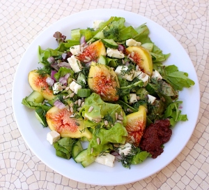 Fig Feta Salad