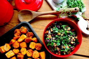 sweet potato chickpea stew