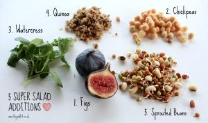 5 super foods in salads pic