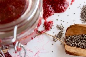 6 Chia Seeds Jam Berry