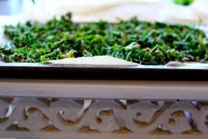 cumin and kale