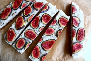 Fig Cake Slices