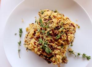linseed lasagne