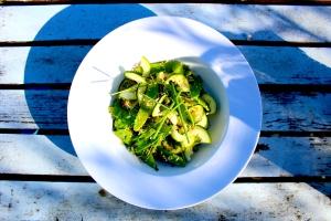 Mangetout salad 4