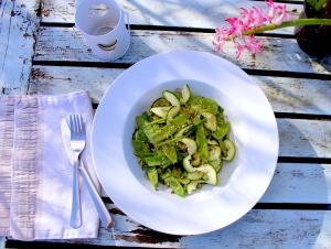 Mangetout salad 6