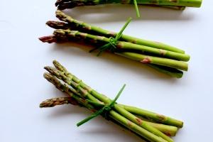 tied asparagus