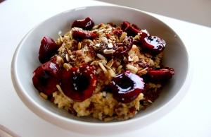 cherry porridge