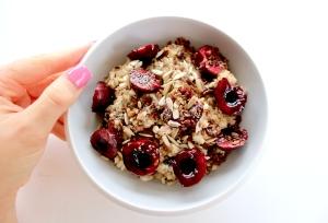 cherry seed bowl