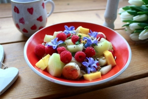 chia fruit breakfast