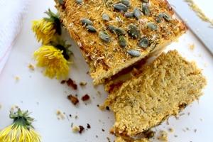 dandelion loaf of bread