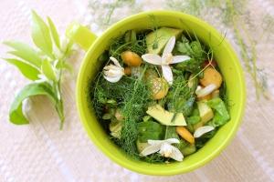 foraged salad