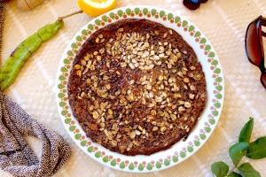Honey Carob Pancake