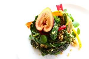 chard fig quinoa