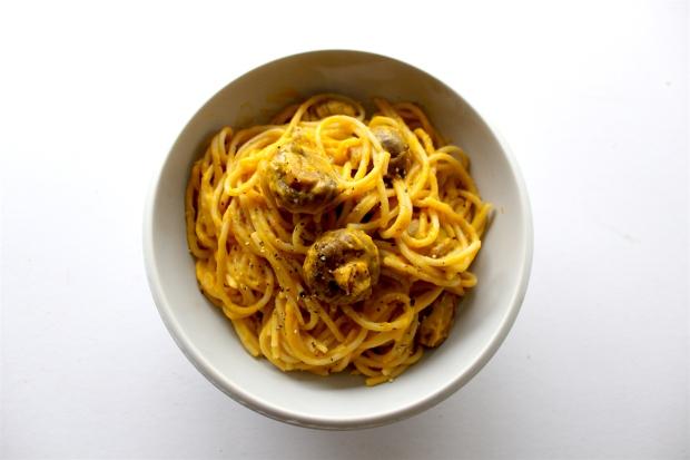 Cheese spaghetti